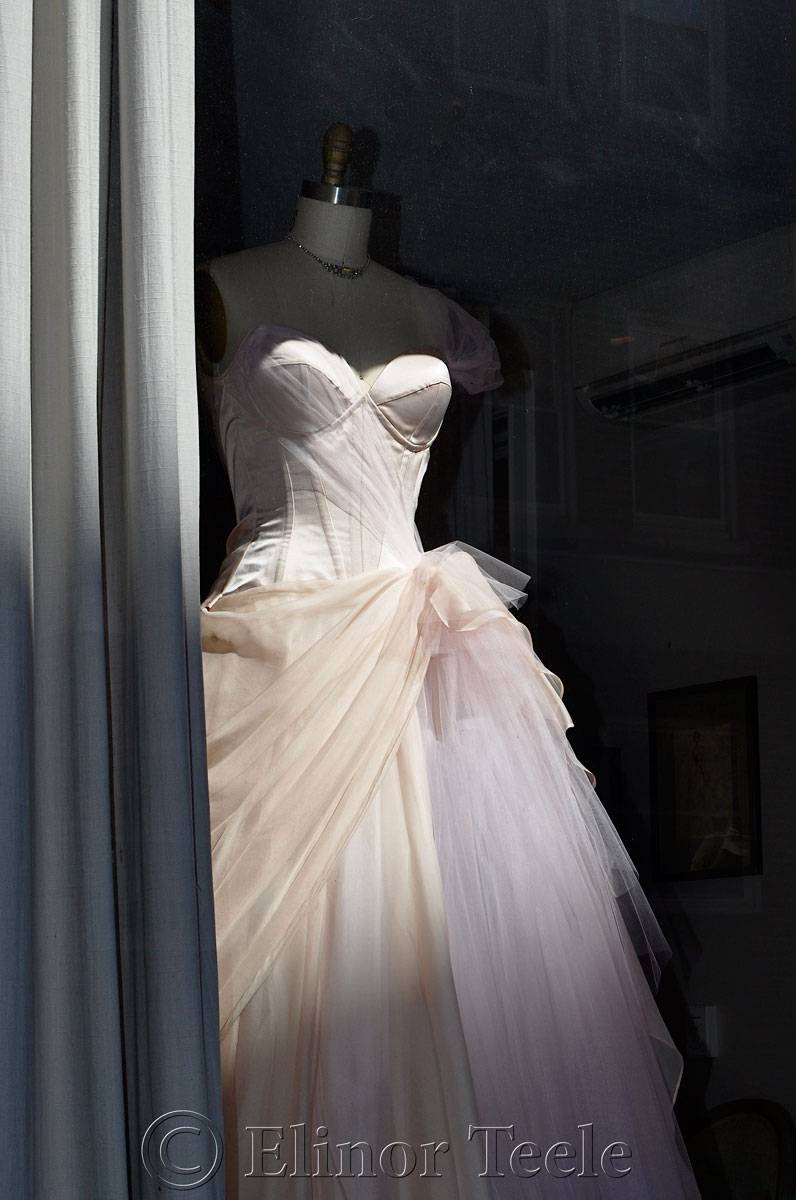Window Dress, North End, Boston MA