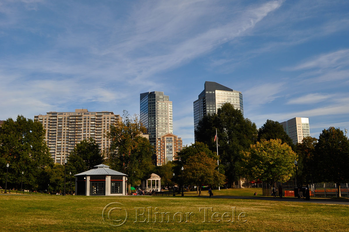 Boston Common in October