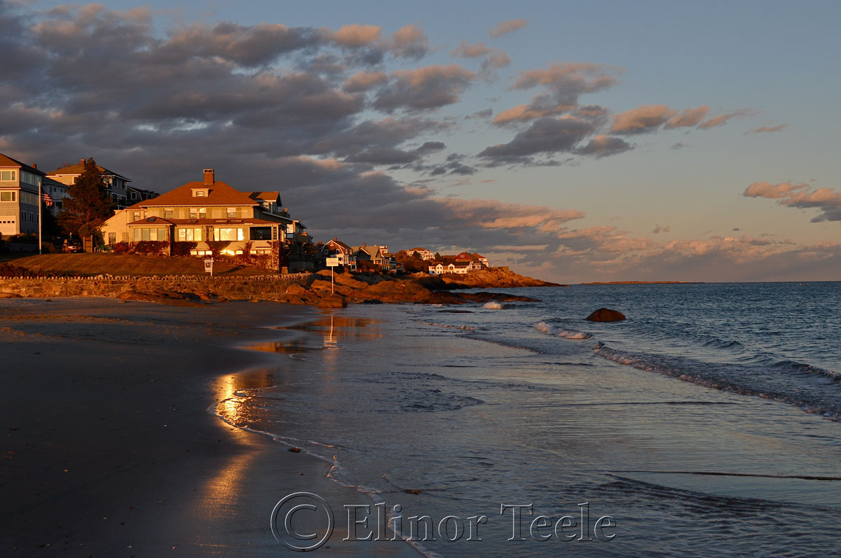 Evening Glow, Good Harbor Beach, Gloucester MA