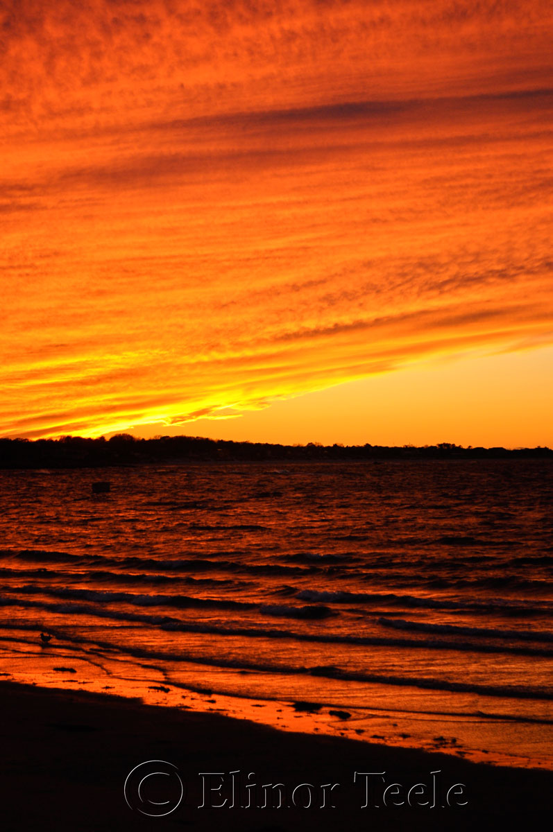 Sunset Over Coffin's Beach, Gloucester MA