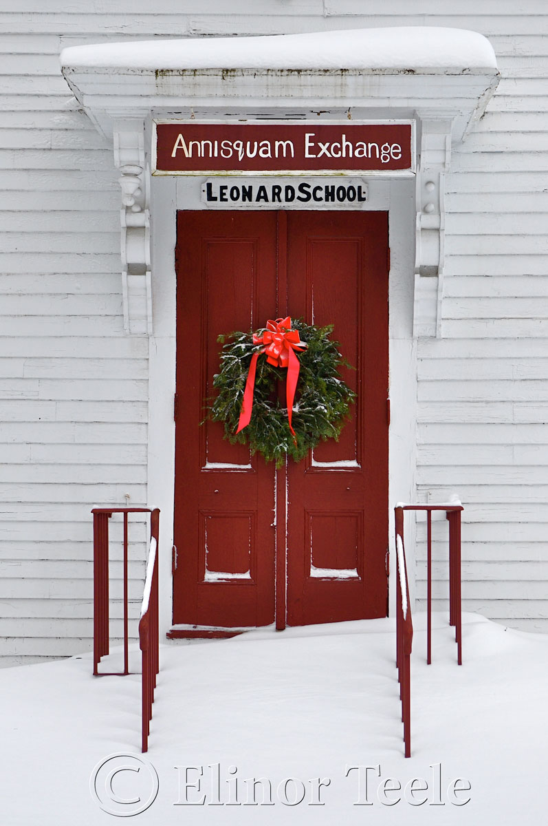 Annisquam Exchange, Annisquam in the Snow