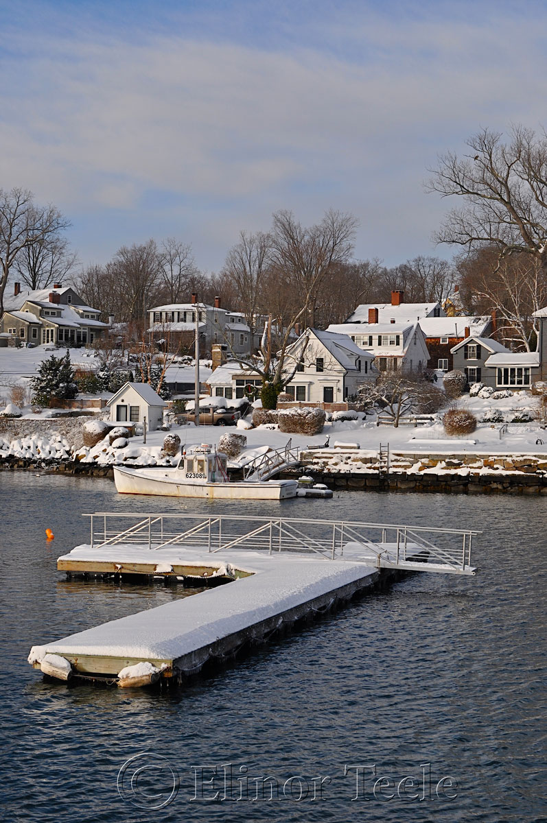 Annisquam Harbor, Annisquam in the Snow