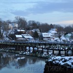Bridge, Annisquam in the Snow