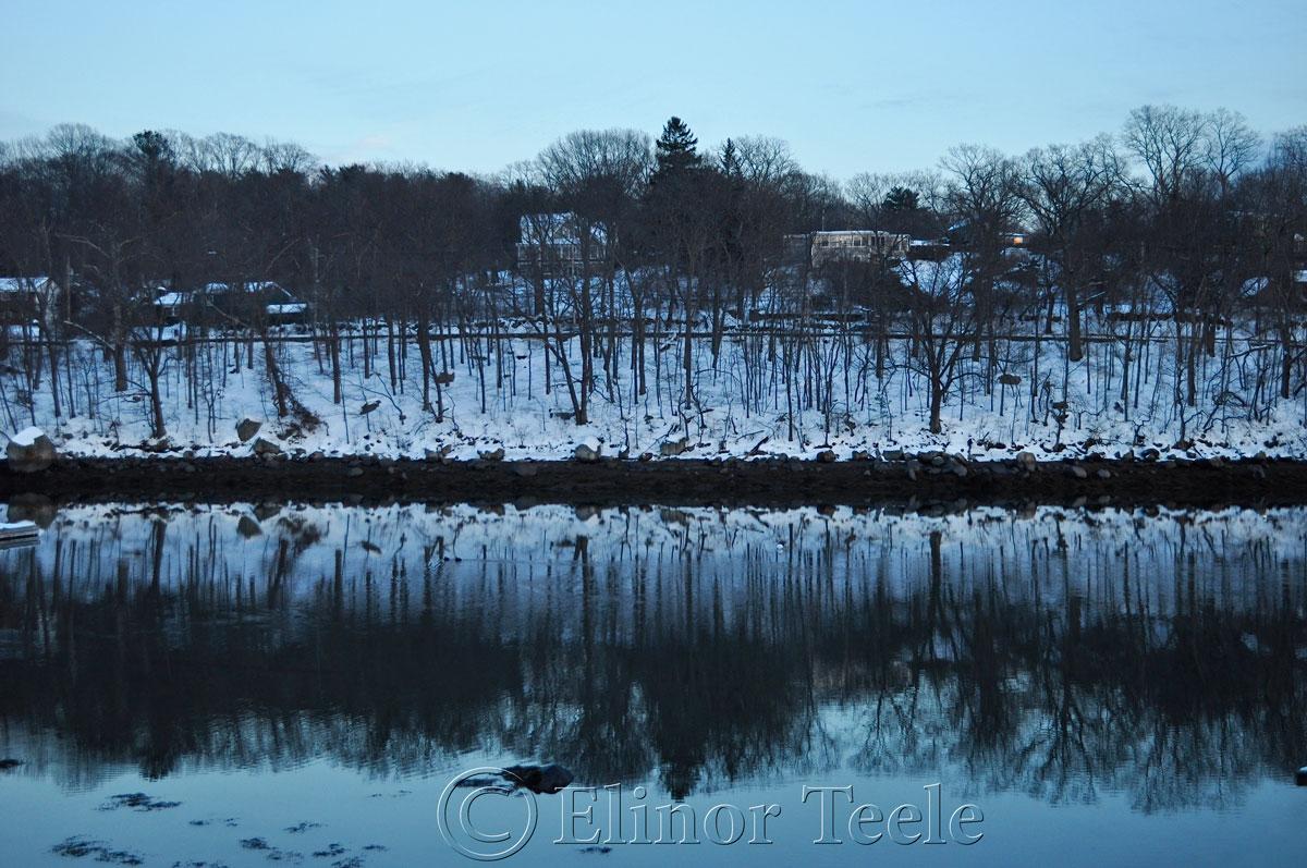 Twilight, Annisquam in the Snow