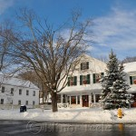 Village Hall, Annisquam in the Snow