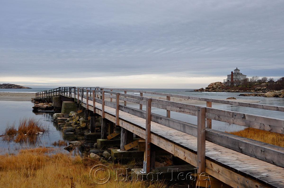 Good Harbor Beach in December, Gloucester MA