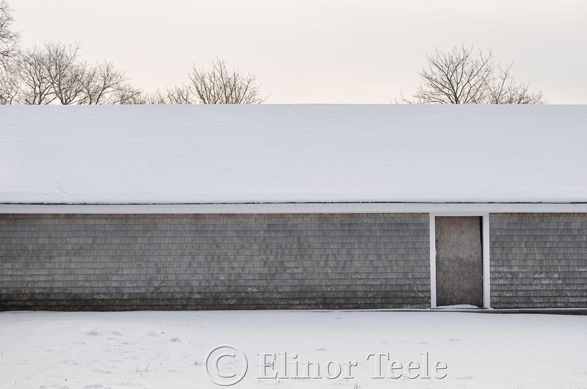 Appleton Farms in Winter, Ipswich MA