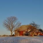 Barn in Winter, Essex MA