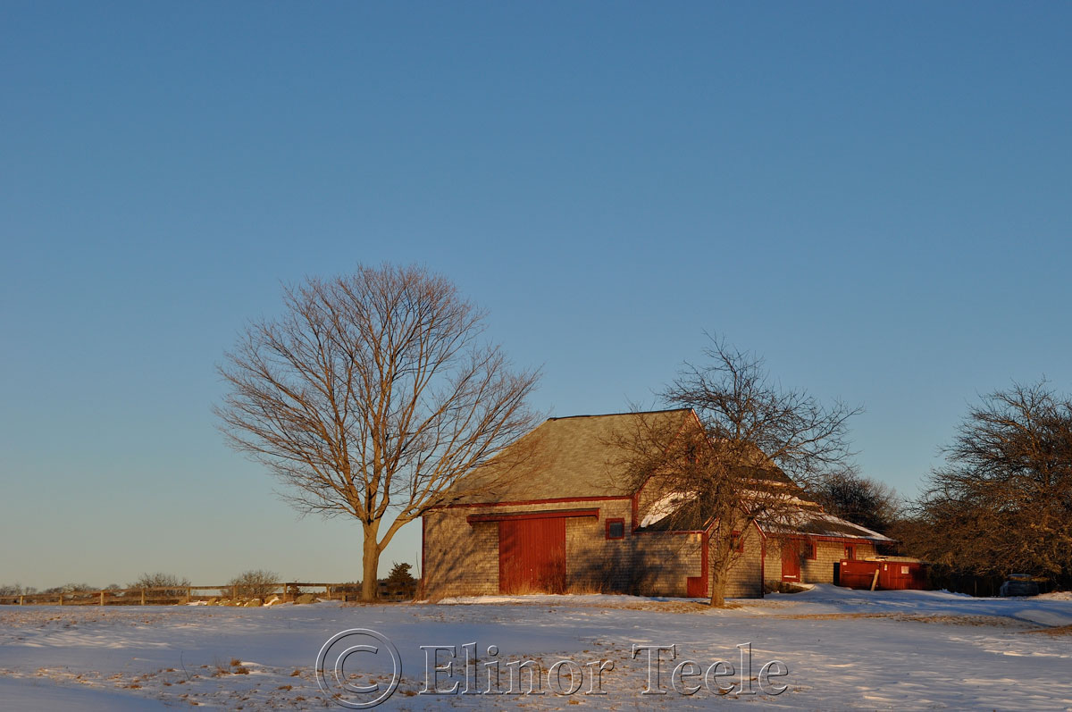 Barn in Winter, Essex MA