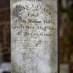 Langsford Cemetery, Lanesville MA