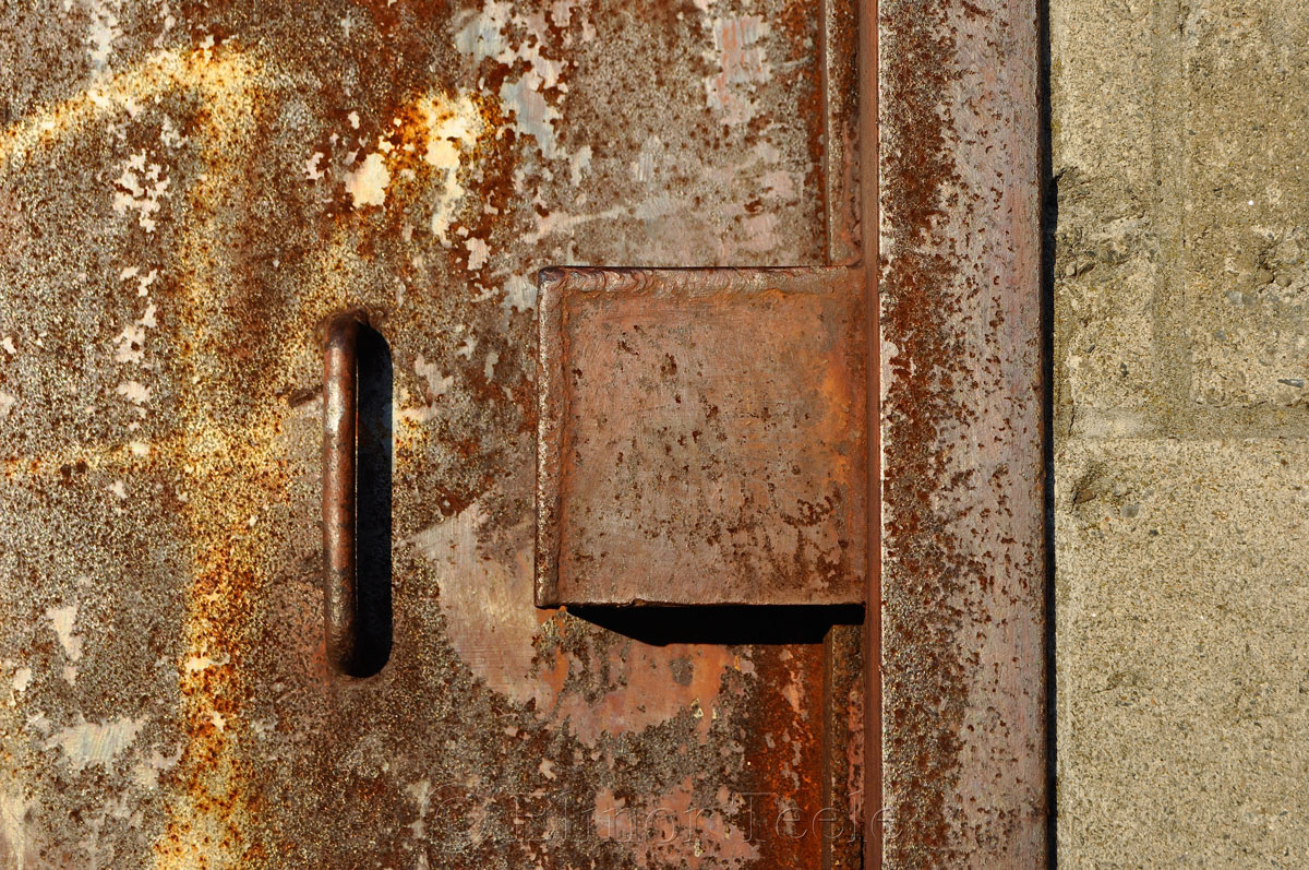 Old Door, Goose Cove Reservoir, Gloucester MA