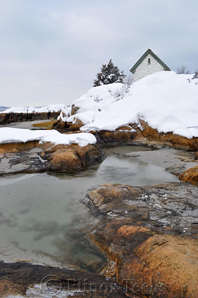 Snowy Beach, Annisquam MA