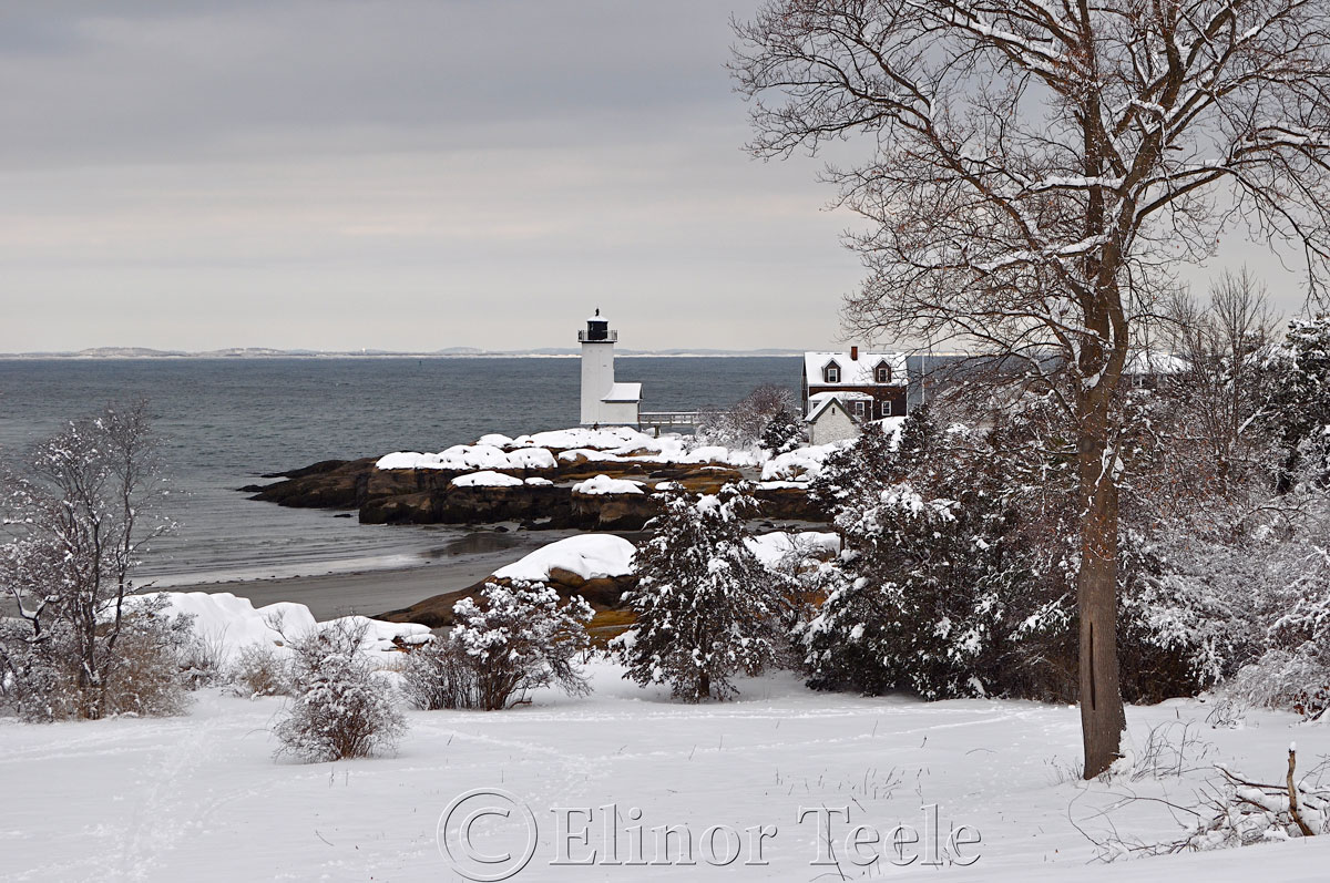 Annisquam Lighthouse in the Snow 3