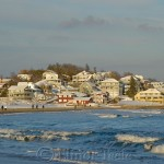 Good Harbor Beach in the Snow, Gloucester MA