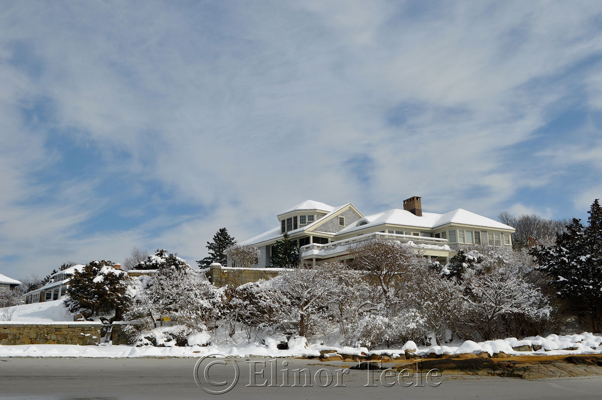 Norwood Heights in the Snow, Annisquam MA