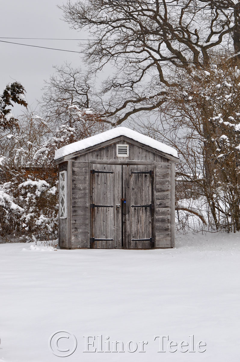 Shed in the Snow, Annisquam MA