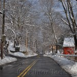 Walnut Street in the Snow, Annisquam MA