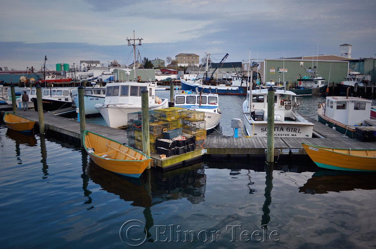 Gloucester Harbor in Spring, Gloucester MA