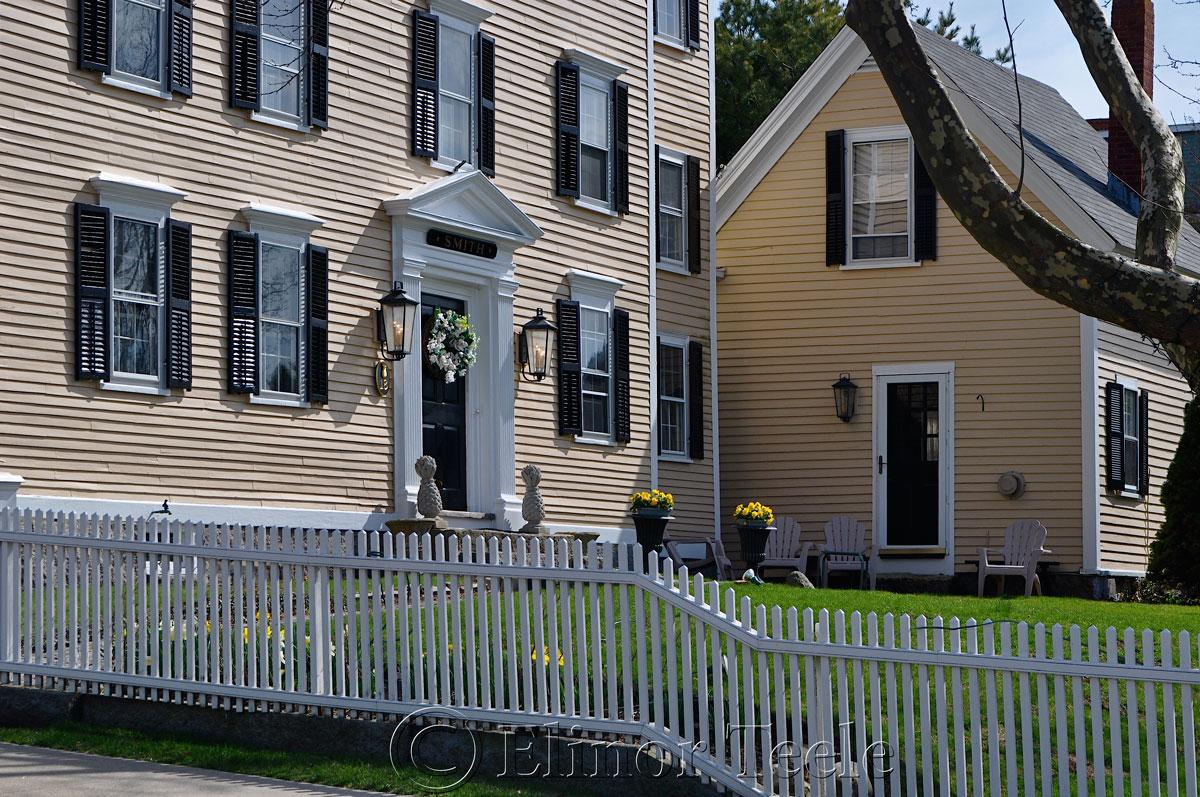 John and Esther Gott House, Rockport MA