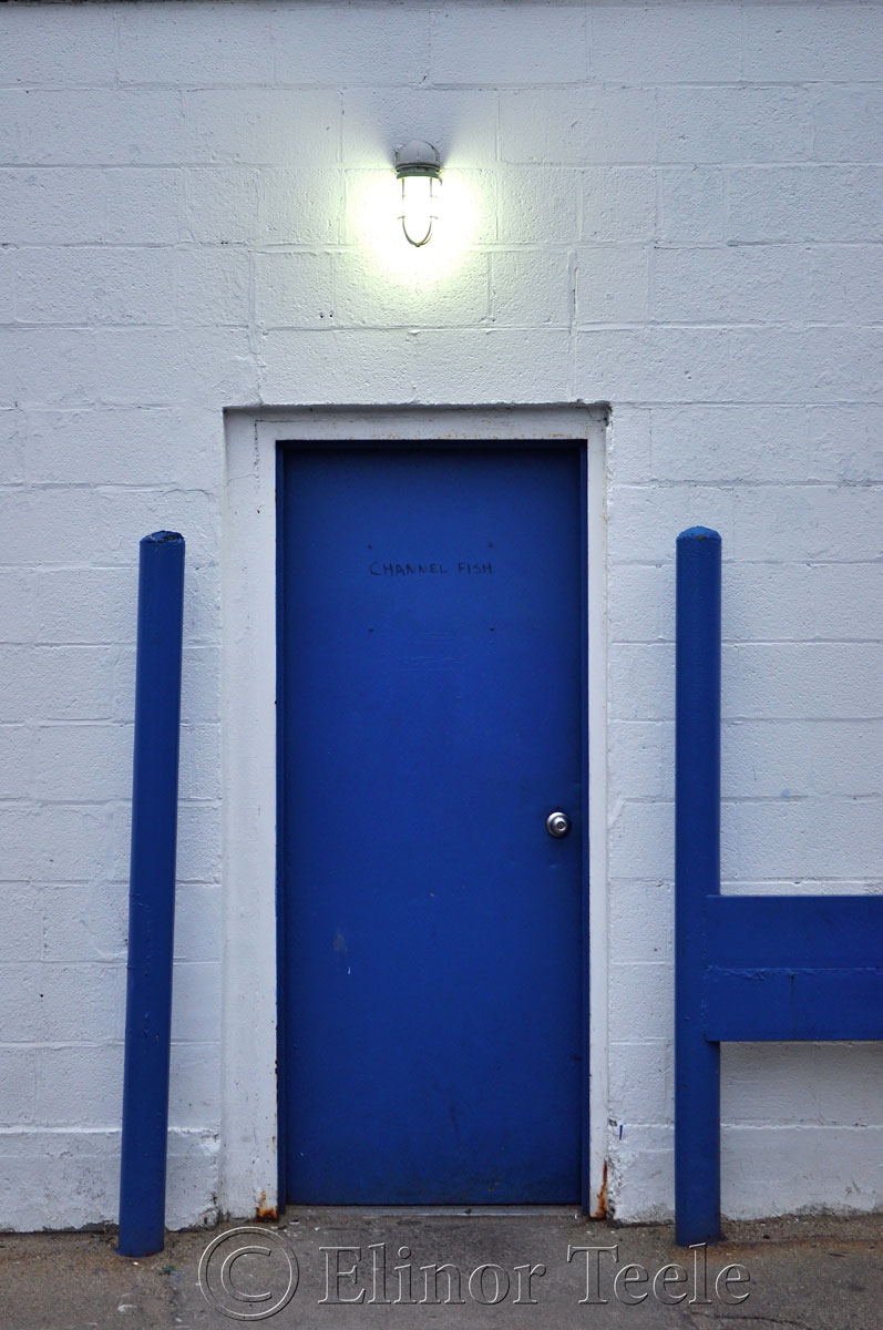 Blue Door, Down the Fort, Gloucester MA
