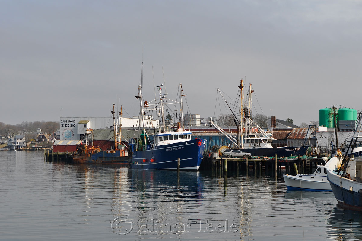 Fog Lifting on Gloucester Harbor, Gloucester MA 1
