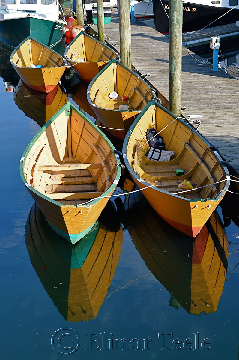 Gloucester Dories, Harbor Cove, Gloucester MA 1