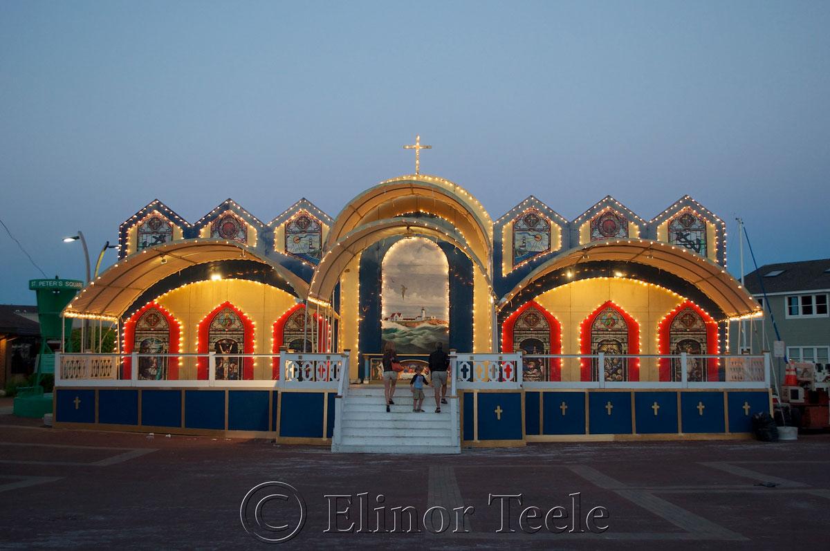 Altar, St. Peter's Fiesta, Gloucester MA 1