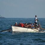 Anthony Saputo's Crew Coming Home, Seine Boat Races, Fiesta, Gloucester MA
