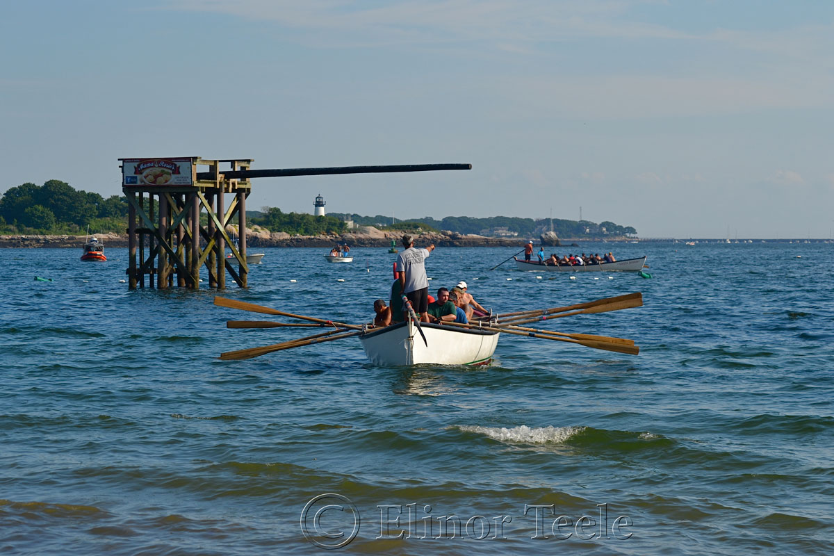 Before the Heats, Seine Boat Races, Fiesta, Gloucester MA 1