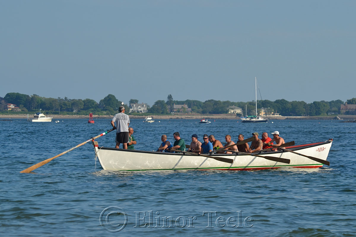Before the Heats, Seine Boat Races, Fiesta, Gloucester MA 3