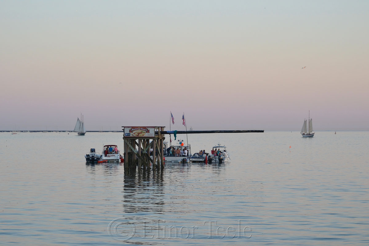 Greasy Pole, End of Day, 6/27/14, Gloucester MA