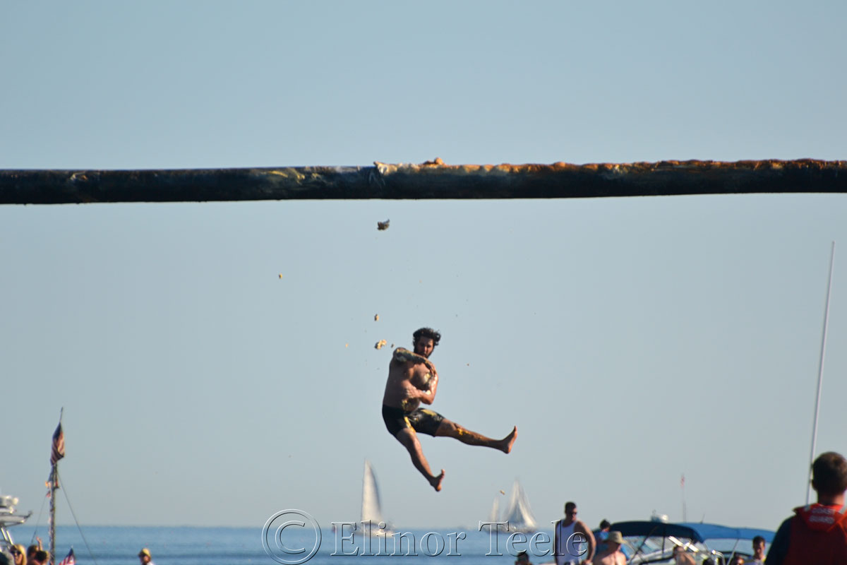 Greasy Pole, Friday 6/27/14, Gloucester MA 2