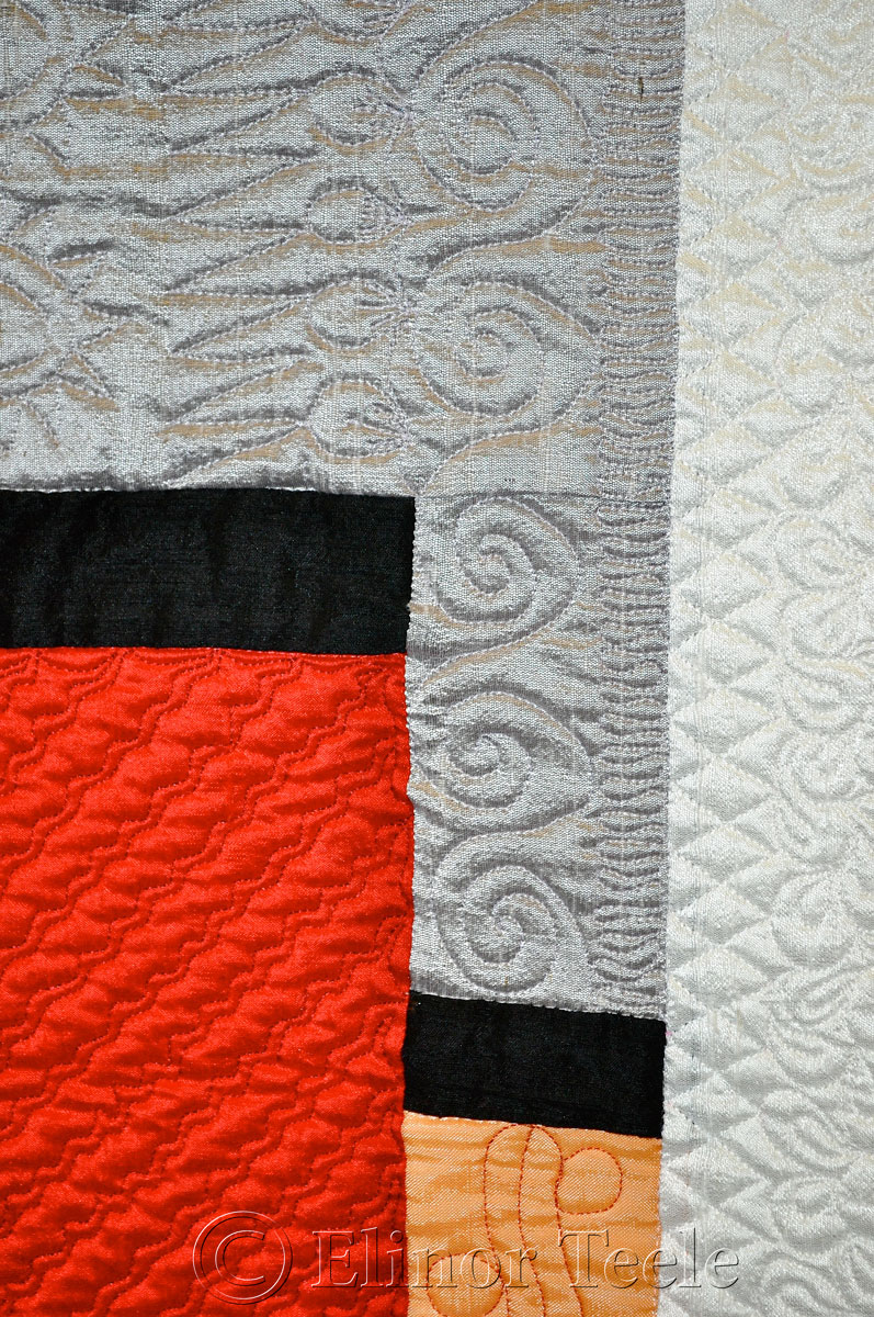 Modern Reflections by Pat Delaney, Quilters' Connection Show 2014 1