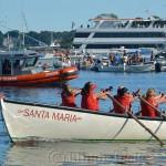 Oardacious Coming Home, Seine Boat Races, Fiesta, Gloucester MA 2