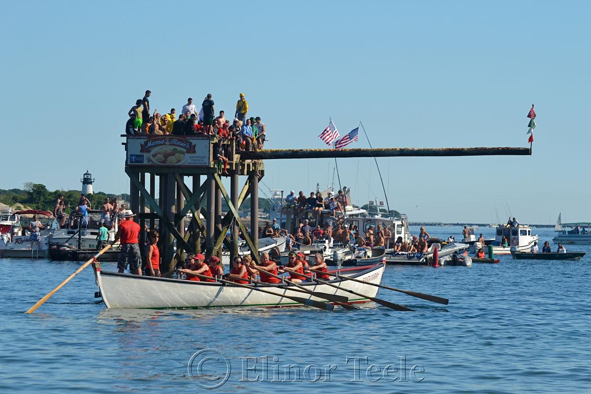 Oardacious, Seine Boat Races, Fiesta, Gloucester MA 1