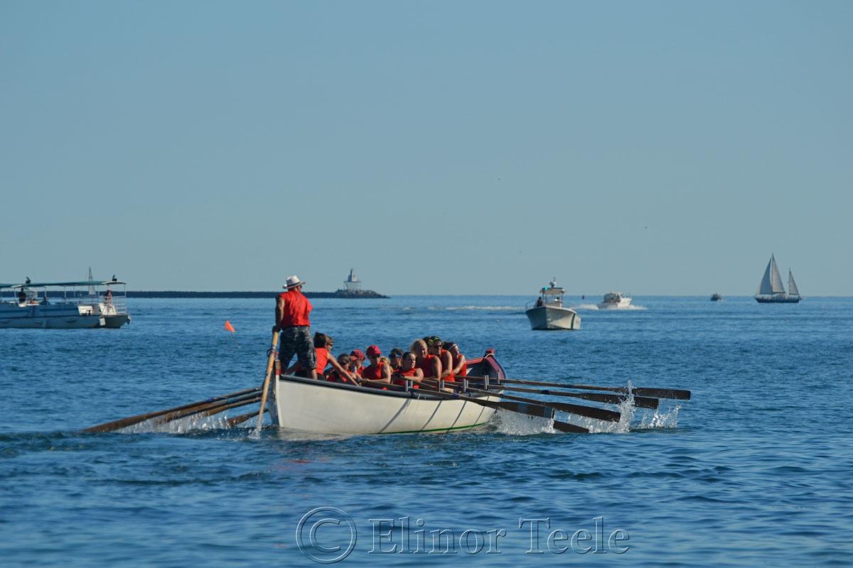 Oardacious, Seine Boat Races, Fiesta, Gloucester MA 2
