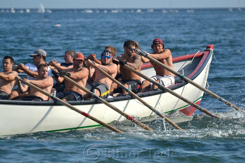Paul Giacalone's Crew, Seine Boat Races, Fiesta, Gloucester MA 2