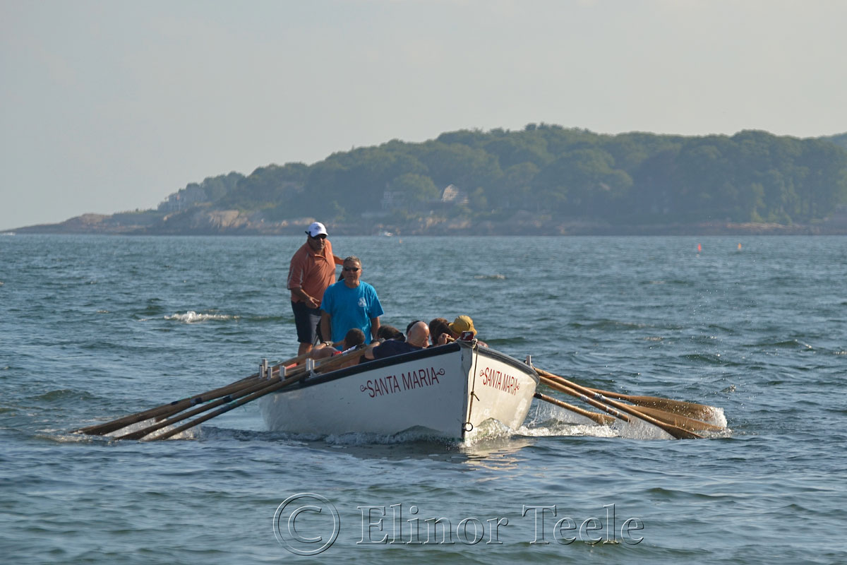 Wharf Rats Coming Home, Seine Boat Races, Fiesta, Gloucester MA