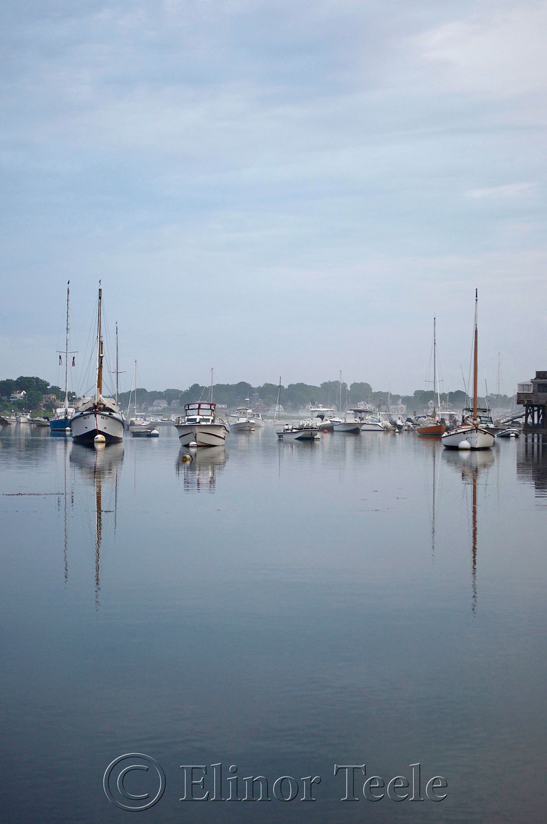 Annisquam Harbor in the Fog 1
