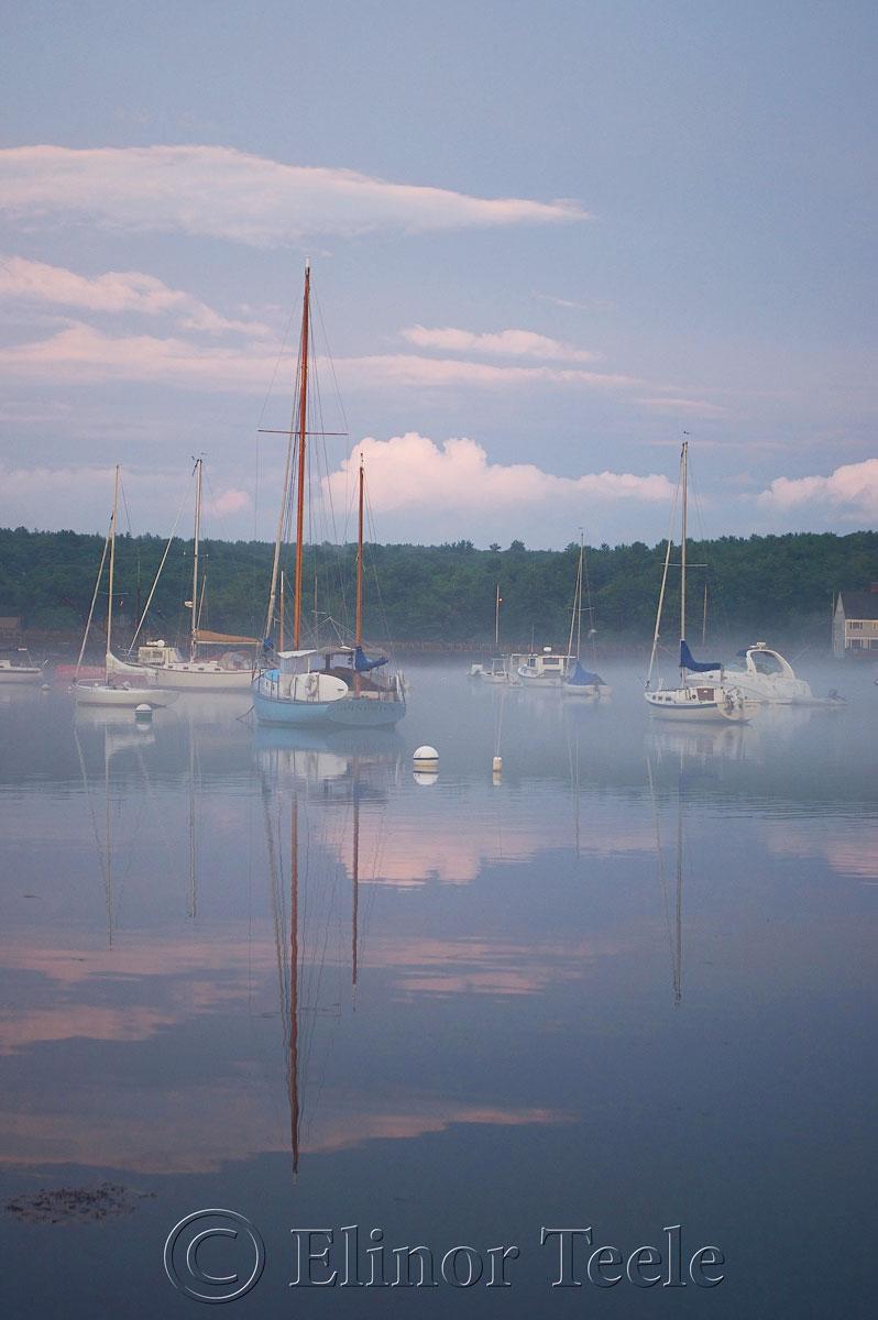 Annisquam Harbor in the Fog 2