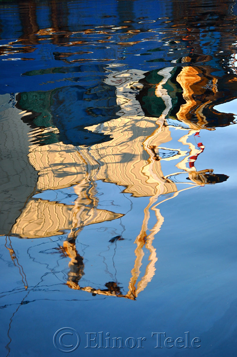 Harbor Cove Reflections, Gloucester MA 2