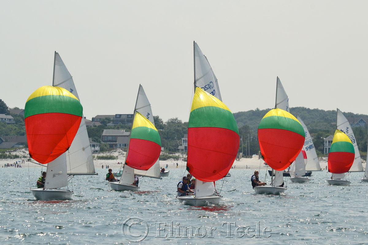 Squam Day 2014 - 420 Races 1