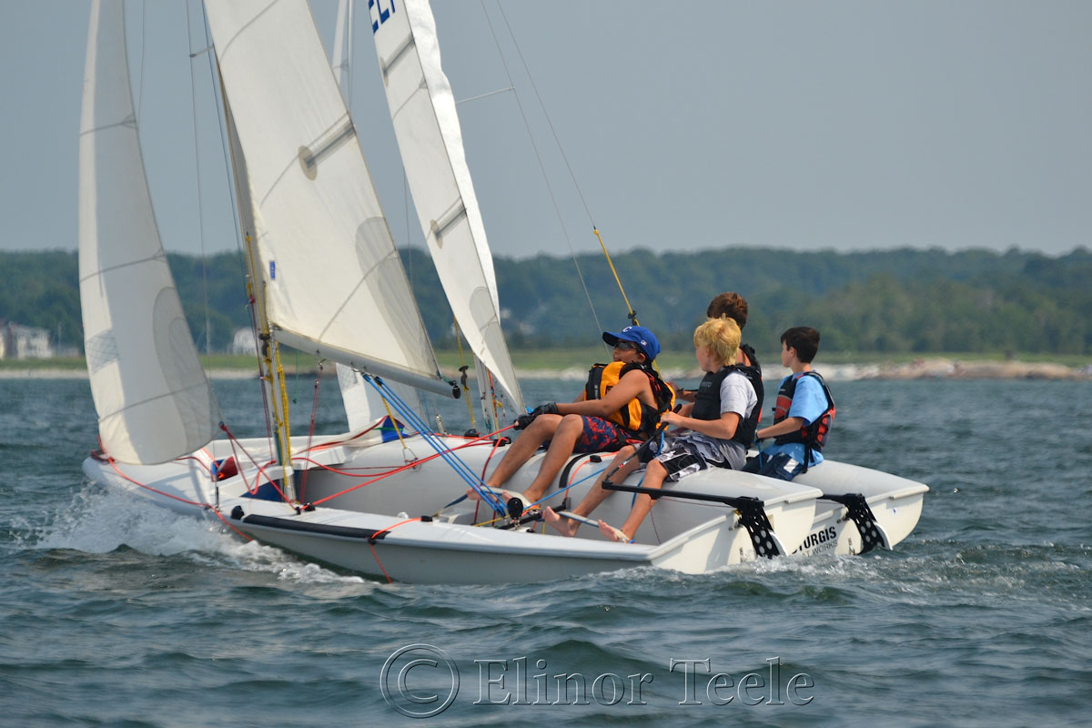 Squam Day 2014 - 420 Races 11