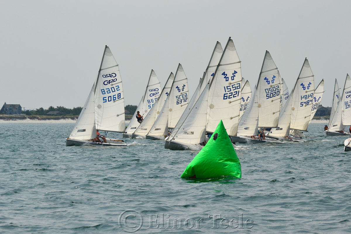 Squam Day 2014 - 420 Races 3