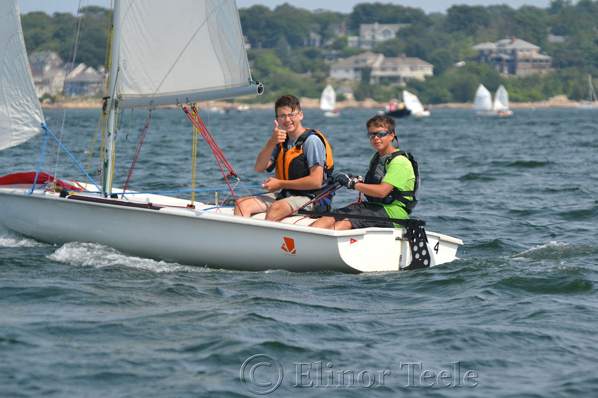 Squam Day 2014 - 420 Races 7