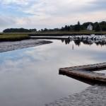 Essex Marsh at Low Tide, Essex MA