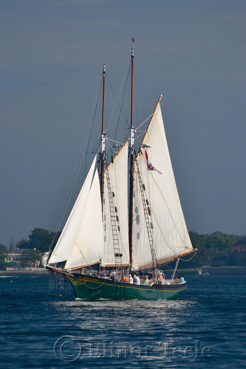 Schooner Thomas Lannon - Harbor Sail 1
