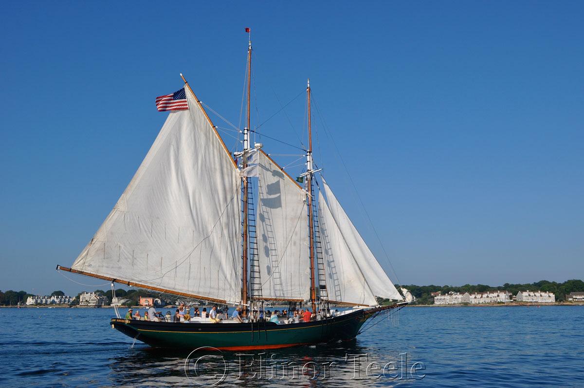 Schooner Thomas Lannon - Harbor Sail 10
