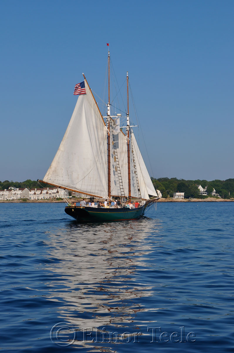 Schooner Thomas Lannon - Harbor Sail 12