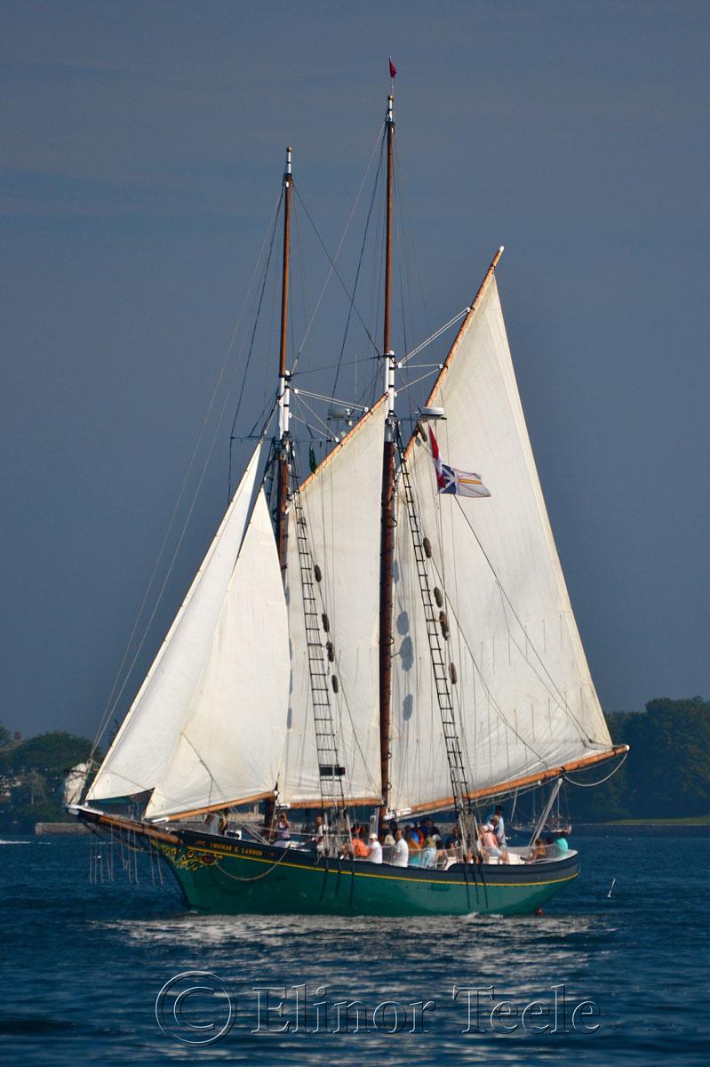 Schooner Thomas Lannon - Harbor Sail 2